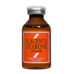 1本でプラセンタとヒアルロン酸をブレンド